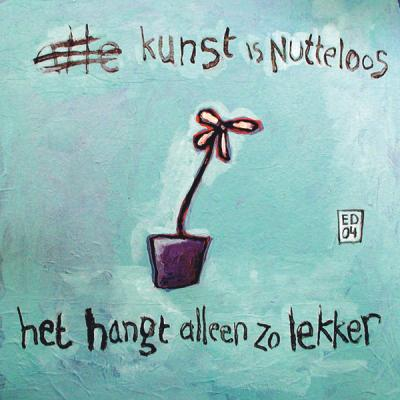 Alle kunst is nutteloos